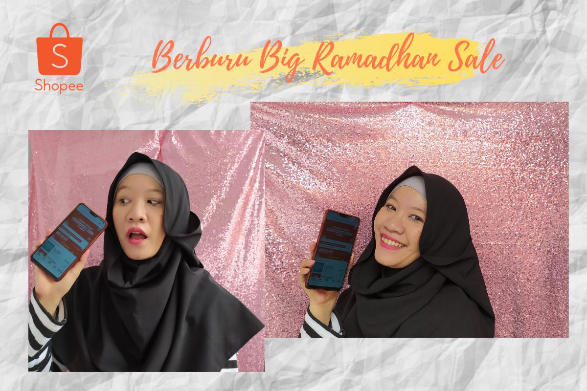 kegiatan ramadan dirumahaja bersama Shopee